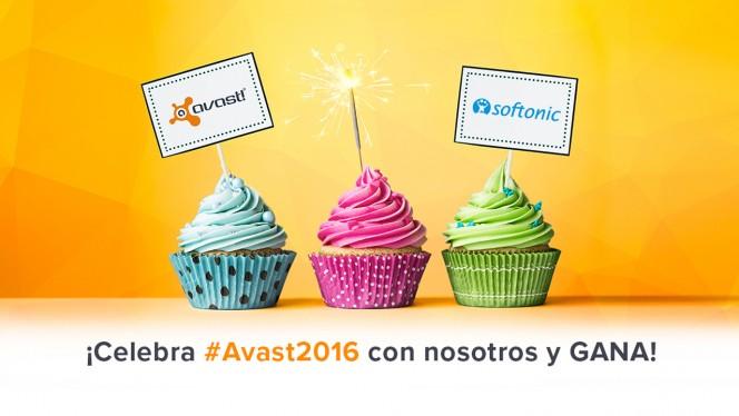 Celebra con nosotros el lanzamiento de Avast 2016 y gana un portátil, un smartphone y licencias
