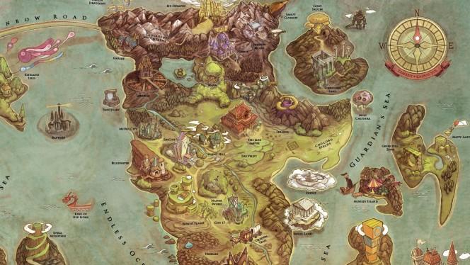 Llega el mapa de juego que es el sueño de todo gamer