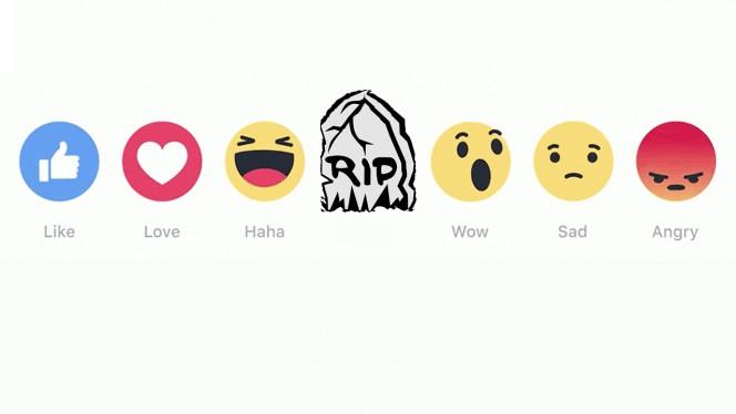 """Facebook """"mata"""" a uno de sus nuevos botones: adiós al """"Me alegra"""""""