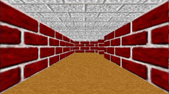 fond d'ecran windows 95 labyrinthe