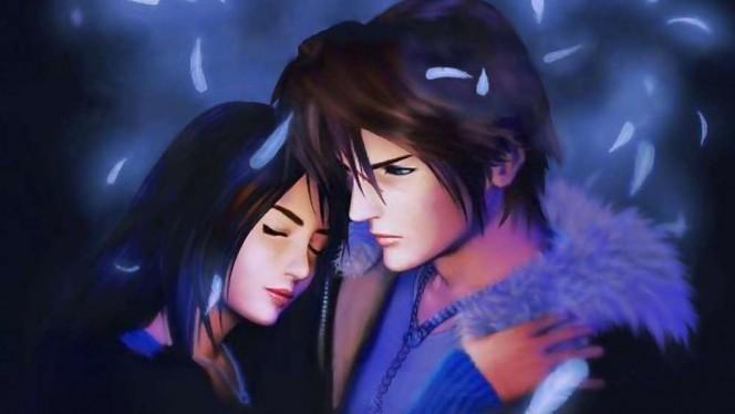 Esta pareja de fans de Final Fantasy se casa con cosplays de Squall y Rinoa