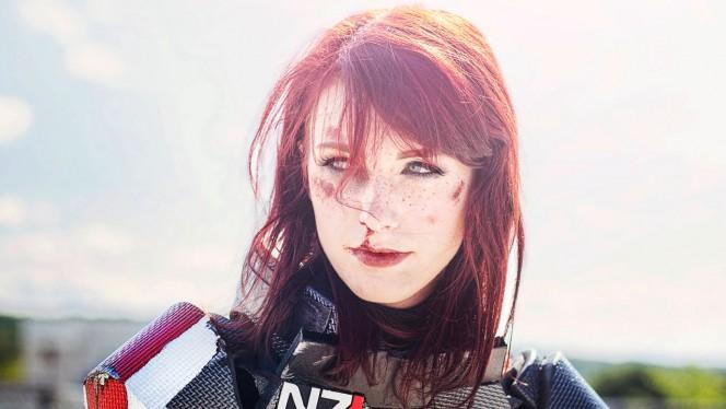 Esta fan te maravillará con su homenaje a la mítica Comandante Shepard de Mass Effect