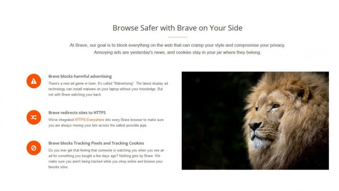 Llega Brave, nuevo rival de Chrome, Firefox y compañía cuyo objetivo es aniquilar una de tus mayores molestias mientras navegas