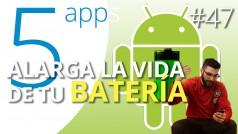 Alarga la vida a tu batería con estas 5 apps