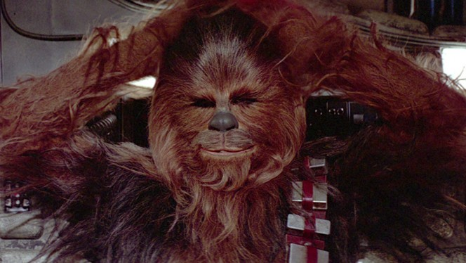 ¿Eres capaz de encontrar a Chewbacca en estos dibujos?