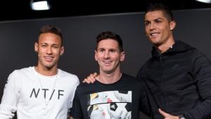 Parodia: Esta es la divertida conversación de WhatsApp entre Messi, Cristiano y Neymar