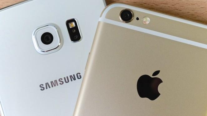 iPhone 6S Plus vs Samsung Galaxy S6 Edge+: el móvil de Apple gana en 2015 por goleada