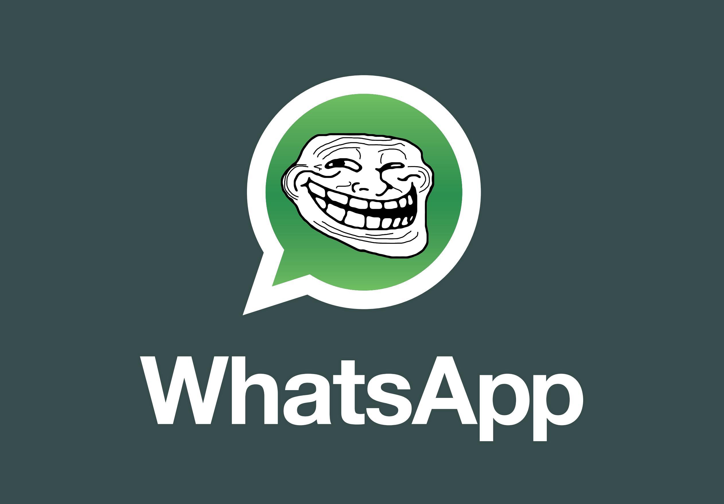 """¿WhatsApp es gratis? Sí, pero no… Algunos usuarios son """"troleados"""""""