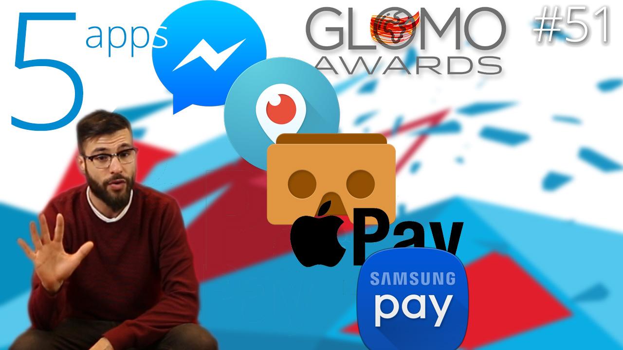 Las mejores apps del Mobile World Congress: GLOMO Awards 2016