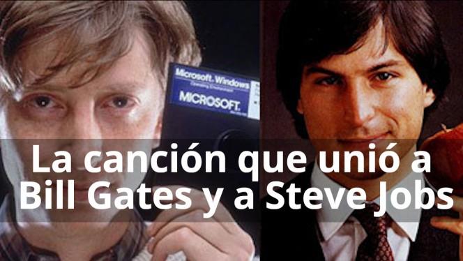 La canción que unió a Bill Gates y Steve Jobs
