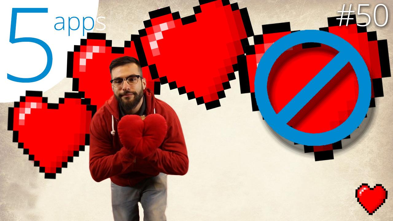 5 Apps para sobrevivir a San Valentín
