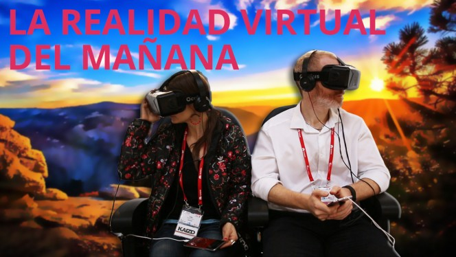 NO TEXT LArealidad virtual del mañana