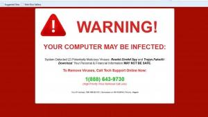 ¡Atención! ¡Tu PC está infectado!