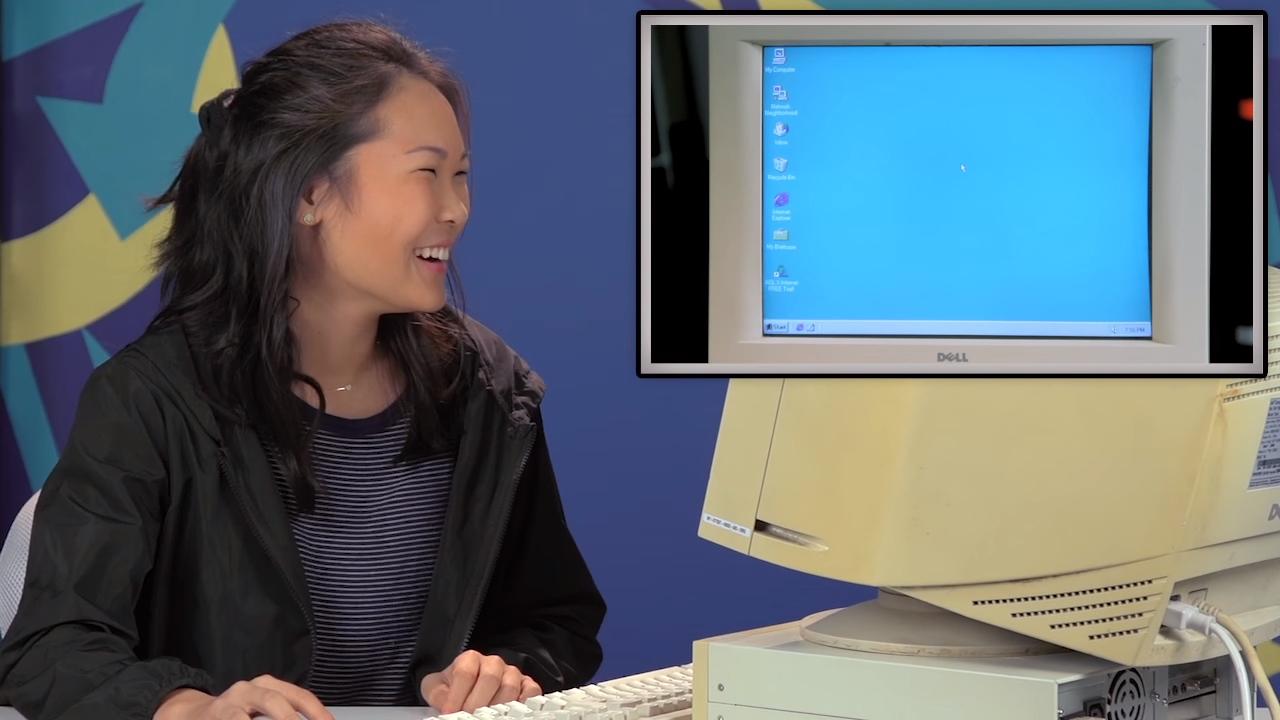 Así reaccionan los adolescentes de hoy en día a un PC con Windows 95