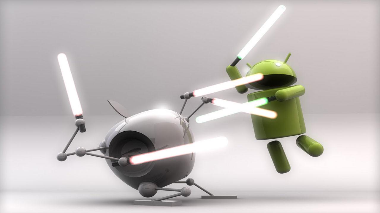 Android se enfrenta a dos nuevas amenazas de Apple, su eterna rival