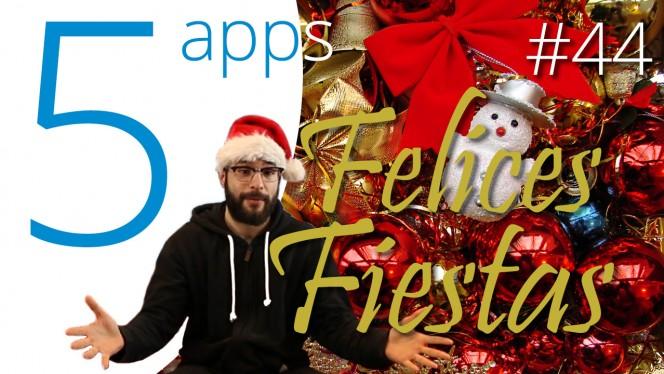 las mejores apps para pasar unas felices fiestas