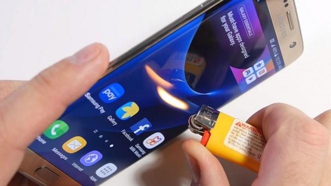 """Han """"torturado"""" a este Samsung Galaxy S7 Edge: este ha sido el resultado"""
