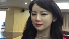 ¿Hablarías con este realista robot en forma de chica o te da miedo?