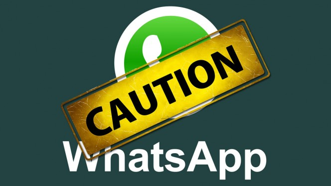 whatsapp-caution