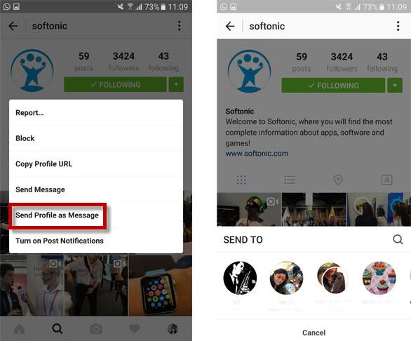 elementi salvati instagram