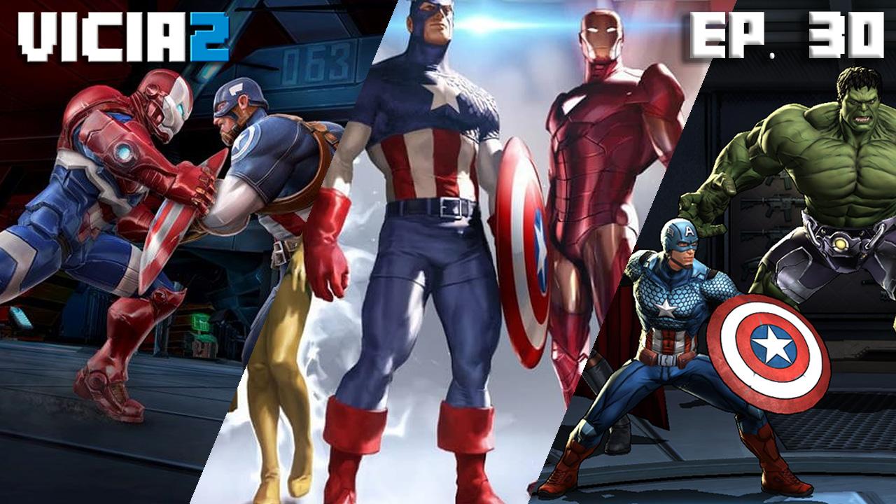 ¿Iron Man o Capitán América? Los 3 mejores juegos de Marvel