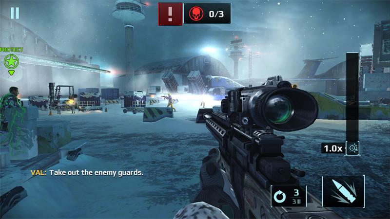 Videojuegos gratis - Sniper Fury