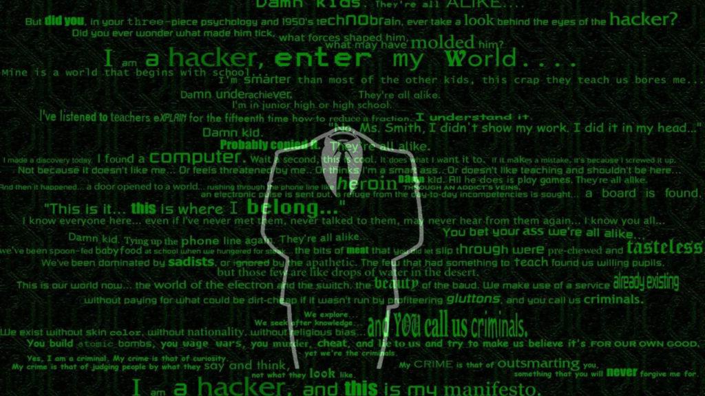 hacker wallpaper android