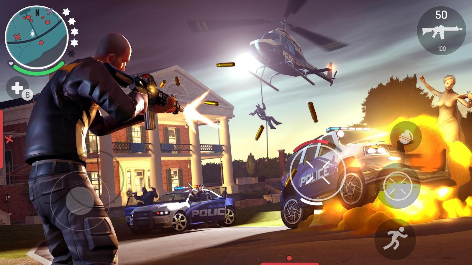 Mejores juegos gratis - Gangstar New Orleans: Open World