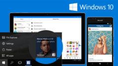 Windows 10 da la bienvenida a Facebook, Instagram y Messenger