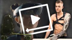 El hombre biónico, la mochila-monopatín y el futuro holográfico que planea Microsoft