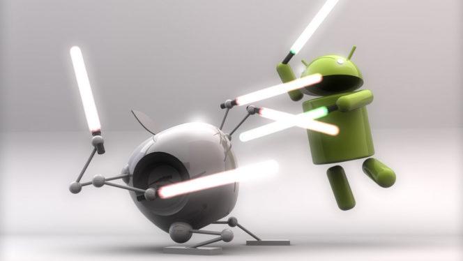 Android vs iOS: ¿dónde están las apps más alucinantes?