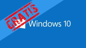 Cómo conseguir Windows 10 gratis (aún)