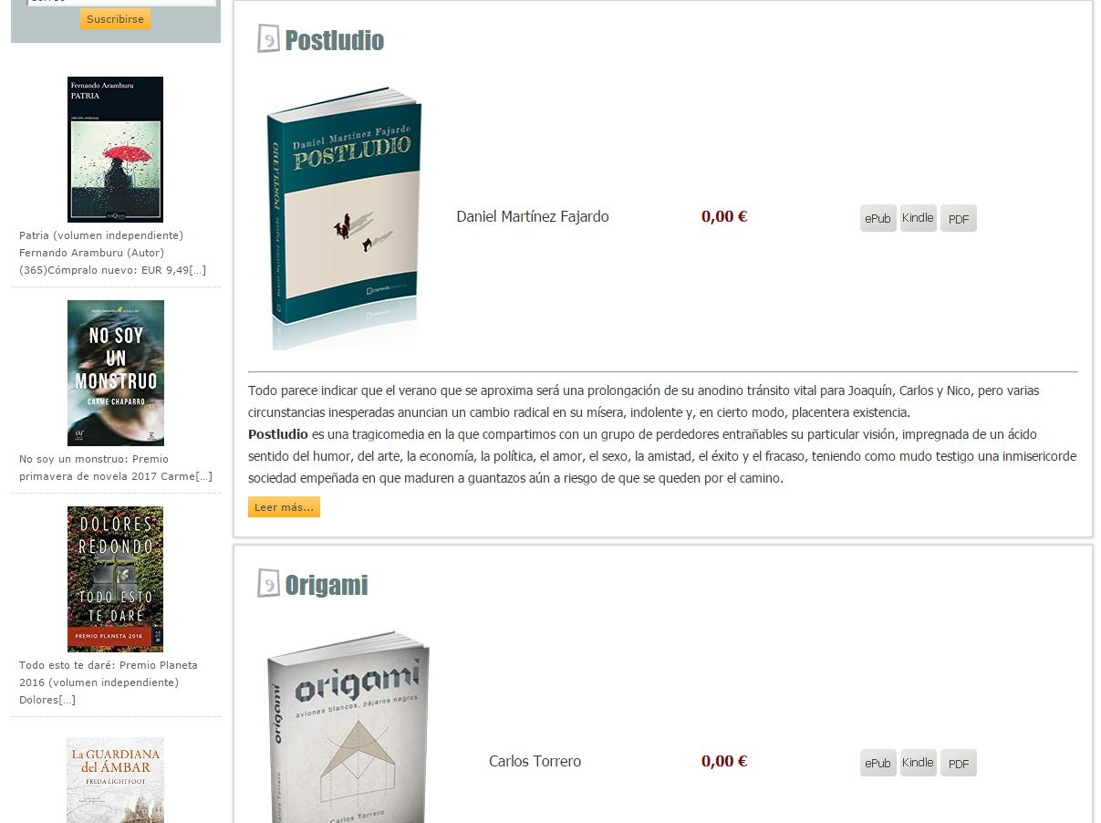 Libros gratis - Literanda