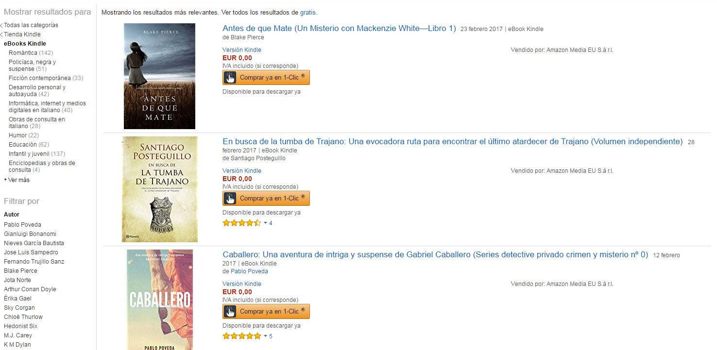 Ebooks Amazon