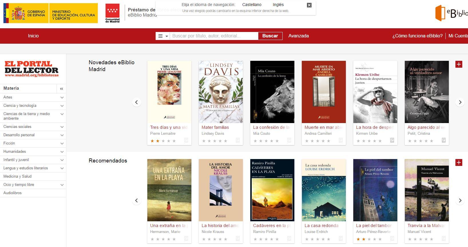 Descargar gratis libros - eBiblio