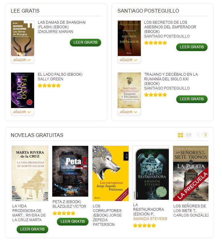 Libros gratis para ebook - Casa del Libro
