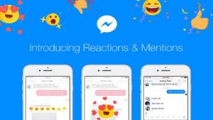 Cómo usar las nuevas reacciones de Facebook Messenger