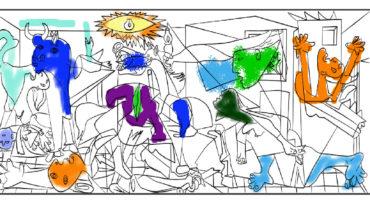 Colorear tu propio Picasso, la nueva moda de Internet