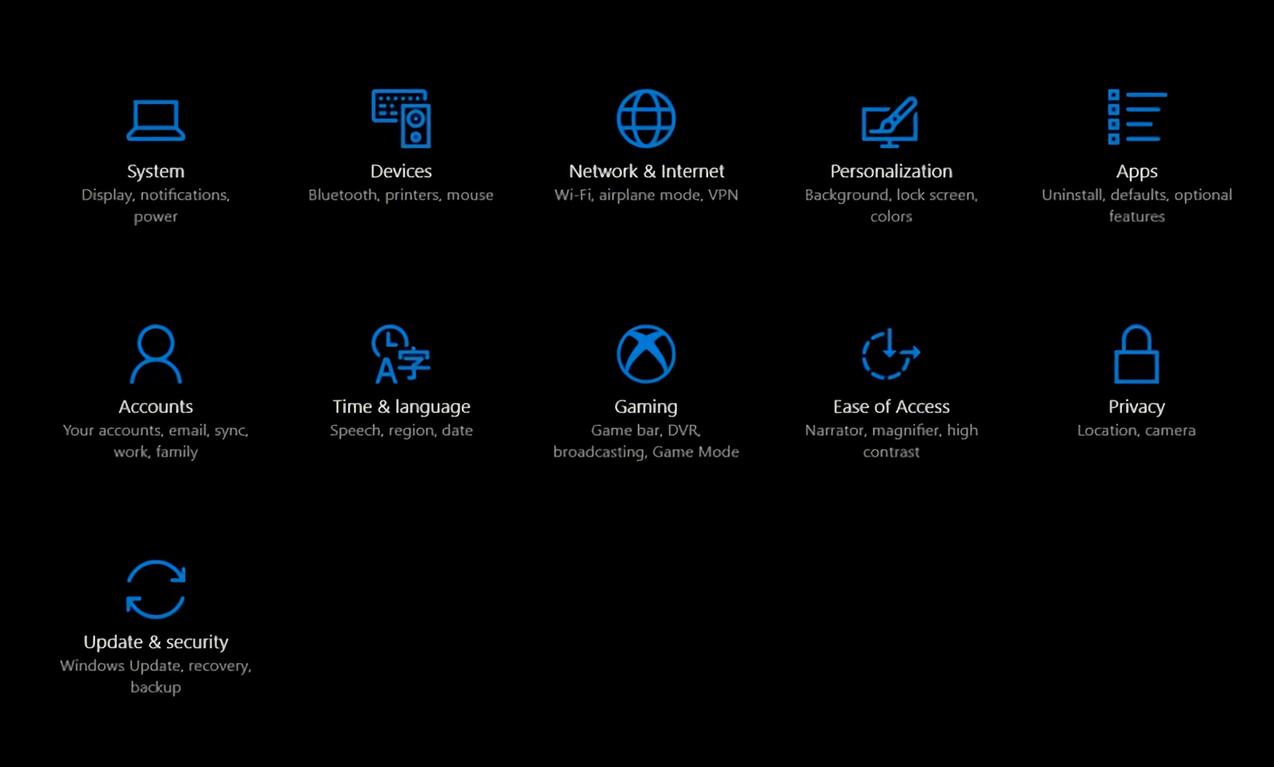 Windows 10 - Modo Juego