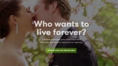 Ya puedes probar Eternime, la web que quiere hacerte inmortal