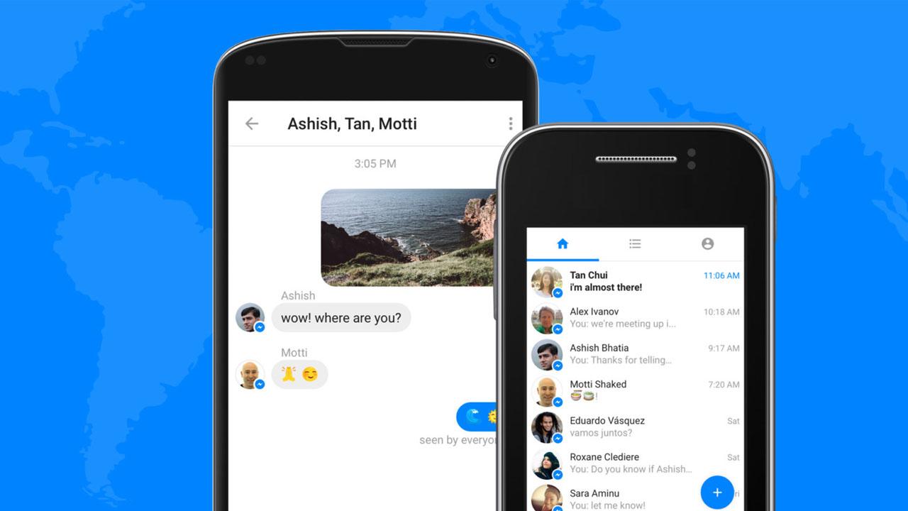 ¿Problemas de memoria y datos? ¡Facebook Messenger Lite ya está aquí!