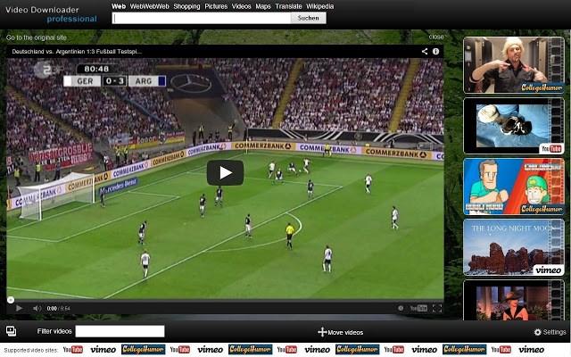 Bajar vídeos - Video Downloader Professional