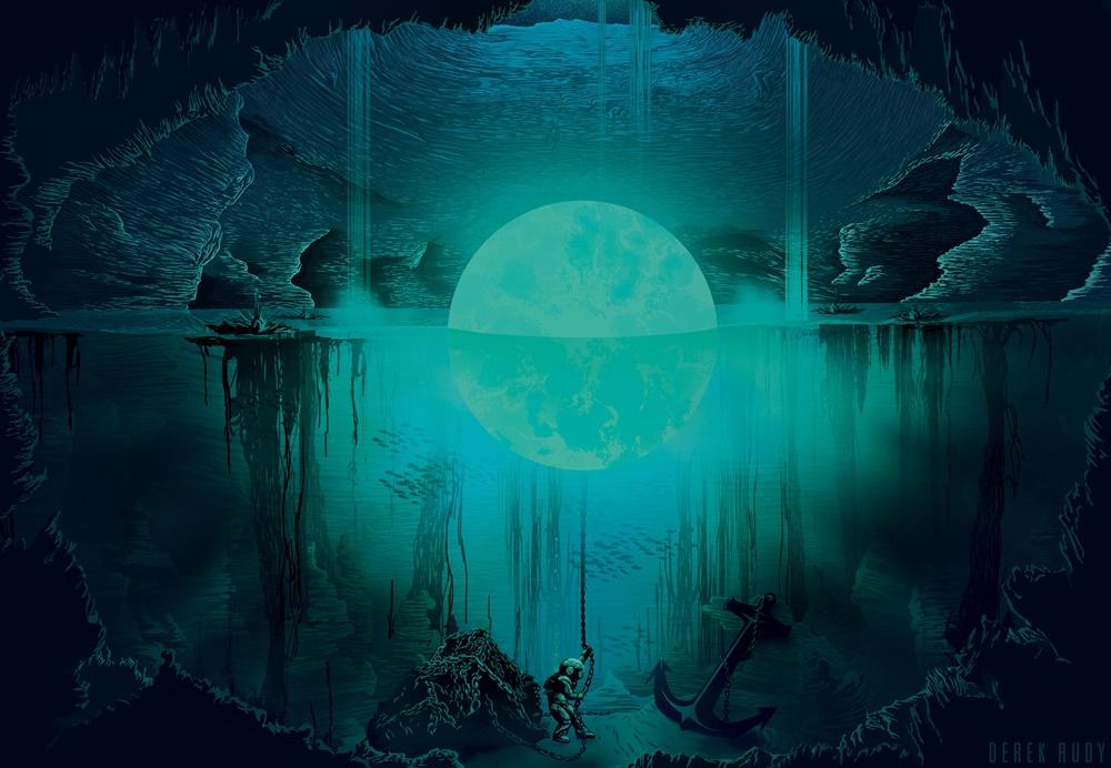 luna mágica imagen de fondo de escritorio
