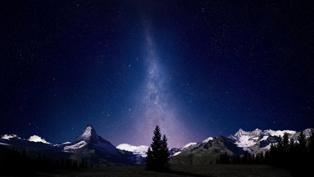 paisaje nocturno fondo de escritorio chulo