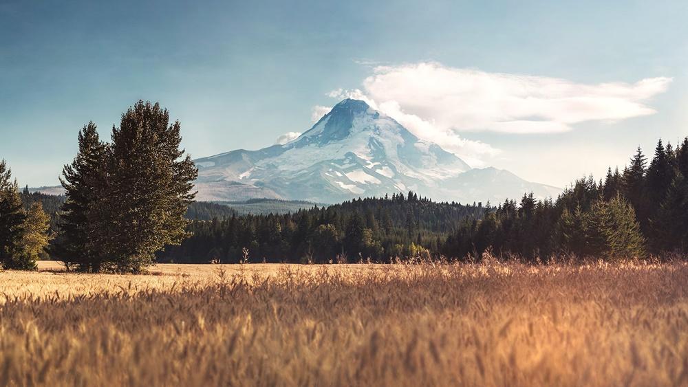 paisaje montaña imagen de escritorio