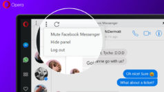 Opera integra ahora Facebook Messenger, WhatsApp y Telegram