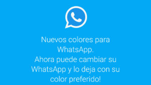 """Cuidado con el engaño de """"los nuevos colores"""" de WhatsApp"""