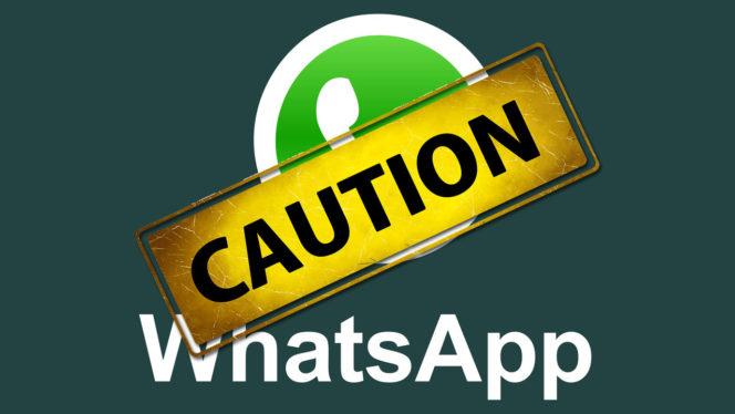 whatsapp-caution