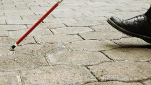 Las vibraciones que pueden acabar con los bastones para ciegos
