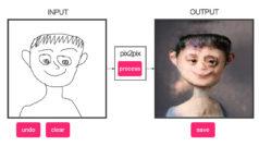 Esta web transforma tus dibujos en inquietantes ilustraciones de pesadilla